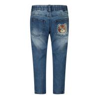 Afbeelding van Moschino MMP038 babybroekje jeans