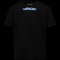 Afbeelding van Off-White JER0071040 kinder t-shirt licht blauw/zwart
