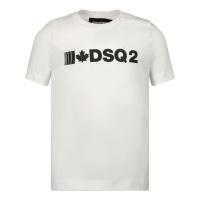 Afbeelding van Dsquared2 DQ04D5 baby t-shirt wit