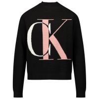 Afbeelding van Calvin Klein IG0IG00678 kindertrui zwart