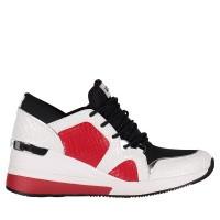 Afbeelding van Michael Kors 43R9LVFS1E dames sneakers wit