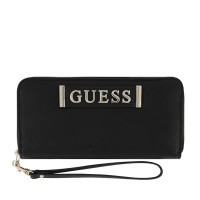 Afbeelding van Guess SWVG7441460 dames portemonnee zwart