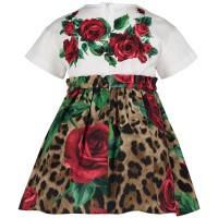 Afbeelding van Dolce & Gabbana L2JDZ1 babyjurkje wit