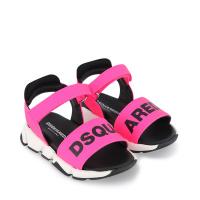 Afbeelding van Dsquared2 66961 kindersandalen fluor roze