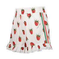 Afbeelding van MonnaLisa 117424 kinder shorts wit/rood