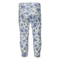 Afbeelding van MonnaLisa 315403 baby legging blauw/wit