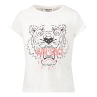 Afbeelding van Kenzo K05098 baby t-shirt wit