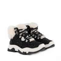 Afbeelding van MonnaLisa 874028M kindersneakers zwart
