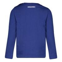Afbeelding van Dsquared2 DQ03PW baby t-shirt cobalt blauw