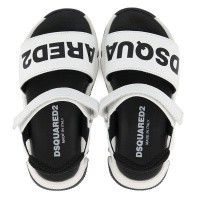 Picture of Dsquared2 63497 kids sandals white