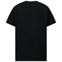 Afbeelding van Versace 1000366 1A00015 kinder t-shirt zwart