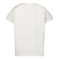 Afbeelding van Moschino MZM02A baby t-shirt wit