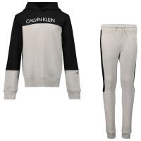 Afbeelding van Calvin Klein IB0IB00952 kinder joggingpak grijs