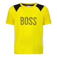 Afbeelding van Boss J05843 baby t-shirt geel
