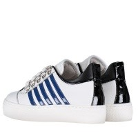 Picture of Dsquared2 57124 kids sneakers white