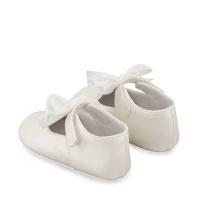 Afbeelding van Mayoral 9404 babyschoenen wit
