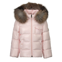 Afbeelding van Moncler 1A52602 babyjas licht roze