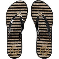 Picture of Guess FL6ENZELE21 womens flipflops black