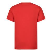 Afbeelding van Dsquared2 DQ0242 baby t-shirt rood