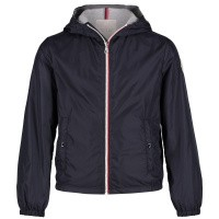 Picture of Moncler 4116805 kids jacket navy