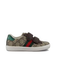 Afbeelding van Gucci 463088 9C220 kindersneakers bruin/beige