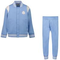 Afbeelding van Moncler 8M77620 baby joggingpak licht blauw