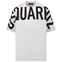 Afbeelding van Dsquared2 DQ0526 kinder t-shirt wit