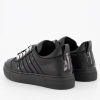Afbeelding van Dsquared2 62290 kindersneakers zwart
