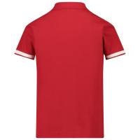 Afbeelding van Moncler 8A71320 kinder polo rood
