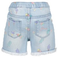 Picture of Guess A92D01 baby shorts jeans