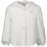 Afbeelding van MonnaLisa 37CPAT baby blouse off white
