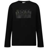 Afbeelding van Boss J25L64 kinder t-shirt zwart