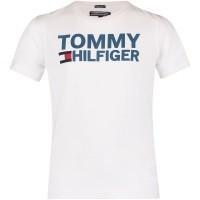Afbeelding van Tommy Hilfiger KB0KB04078 kinder t-shirt wit