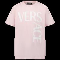 Afbeelding van Versace 1000239 1A01330 kinder t-shirt licht roze