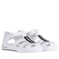 Afbeelding van Dolce & Gabbana DN0115 kindersandalen wit
