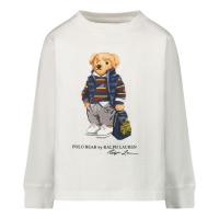 Afbeelding van Ralph Lauren 805681 kinder t-shirt wit