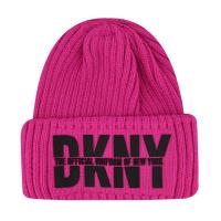 Afbeelding van DKNY D31262 kindermuts fluor roze
