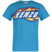 Picture of Kenzo KN10578 kids t-shirt turquoise