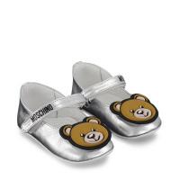 Afbeelding van Moschino 67337 babysneakers zilver