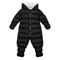 Afbeelding van Moncler 1G51900 baby skipak zwart