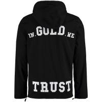 Afbeelding van in Gold We Trust FAJ028 heren jas zwart