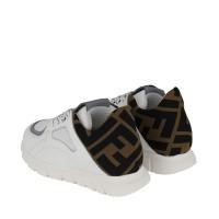Afbeelding van Fendi JMR334 kindersneakers wit