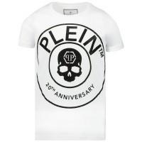 Afbeelding van Philipp Plein BTK0809 kinder t-shirt wit