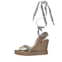 Afbeelding van Moschino JA1633 dames sandalen goud