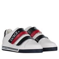 Afbeelding van Dolce & Gabbana DA0654 kindersneakers wit