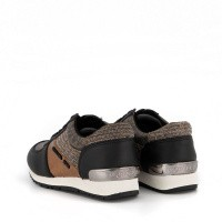 Afbeelding van Michael Kors ZIA ALLIE JETTE kindersneakers brons