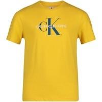 Afbeelding van Calvin Klein IB0IB00032 kinder t-shirt geel