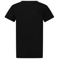 Afbeelding van Givenchy H25253 kinder t-shirt zwart