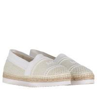 Afbeelding van Michael Kors 40R9RAFP1D dames schoenen wit