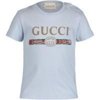 Afbeelding van Gucci 504121 baby t-shirt licht blauw